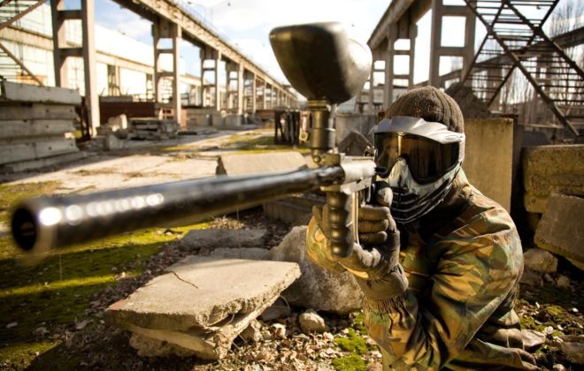Paintball Scharfschützgewehr