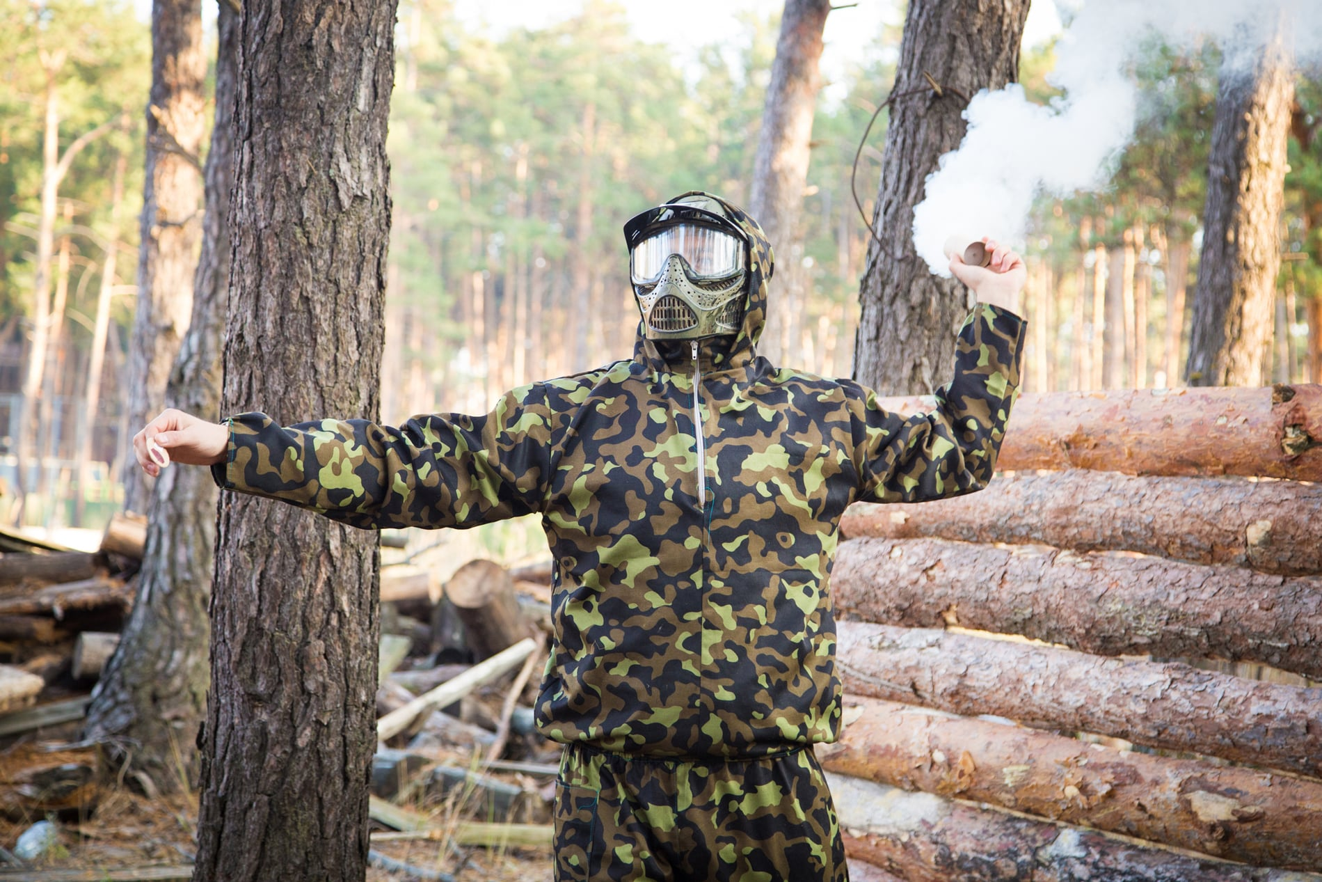 beste Paintball Handgranate